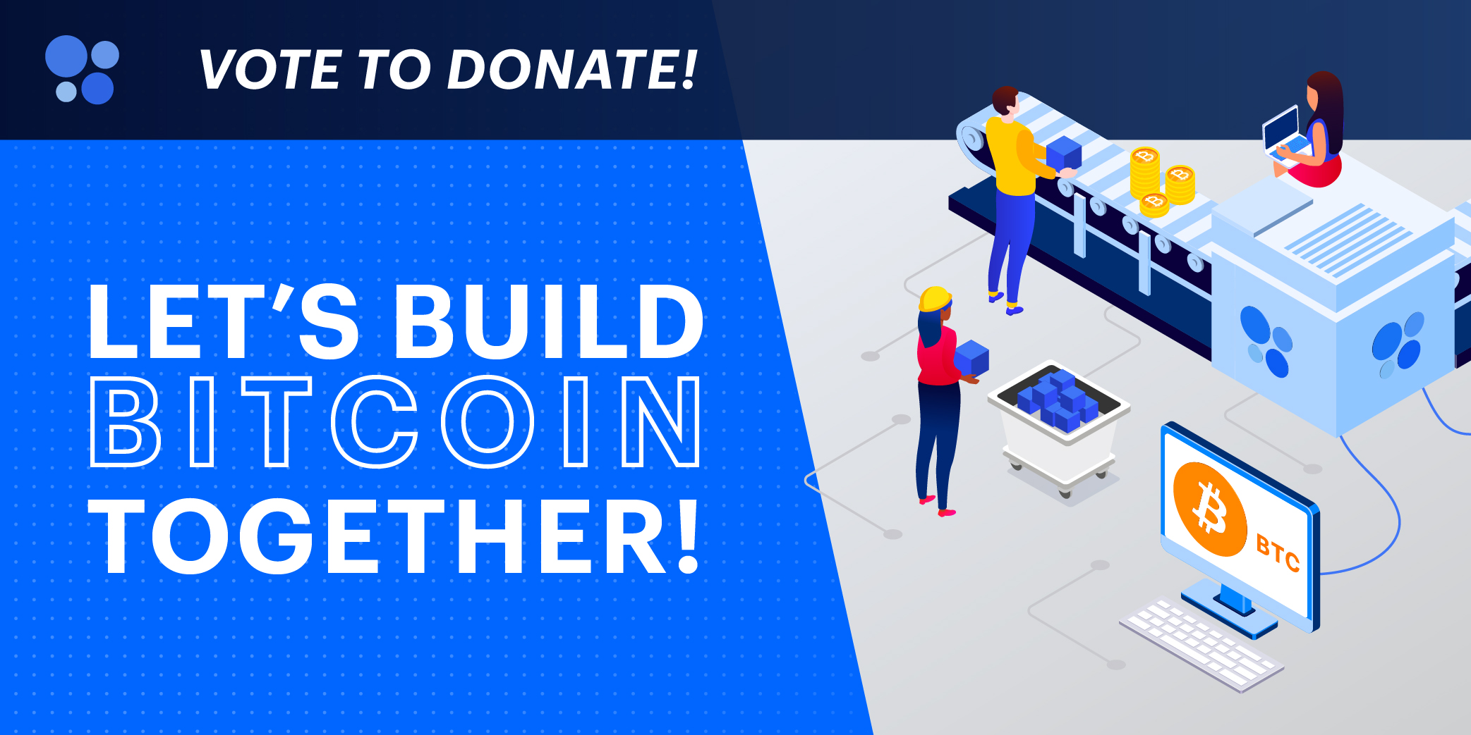 Let's Build Bitcoin Together - BTC