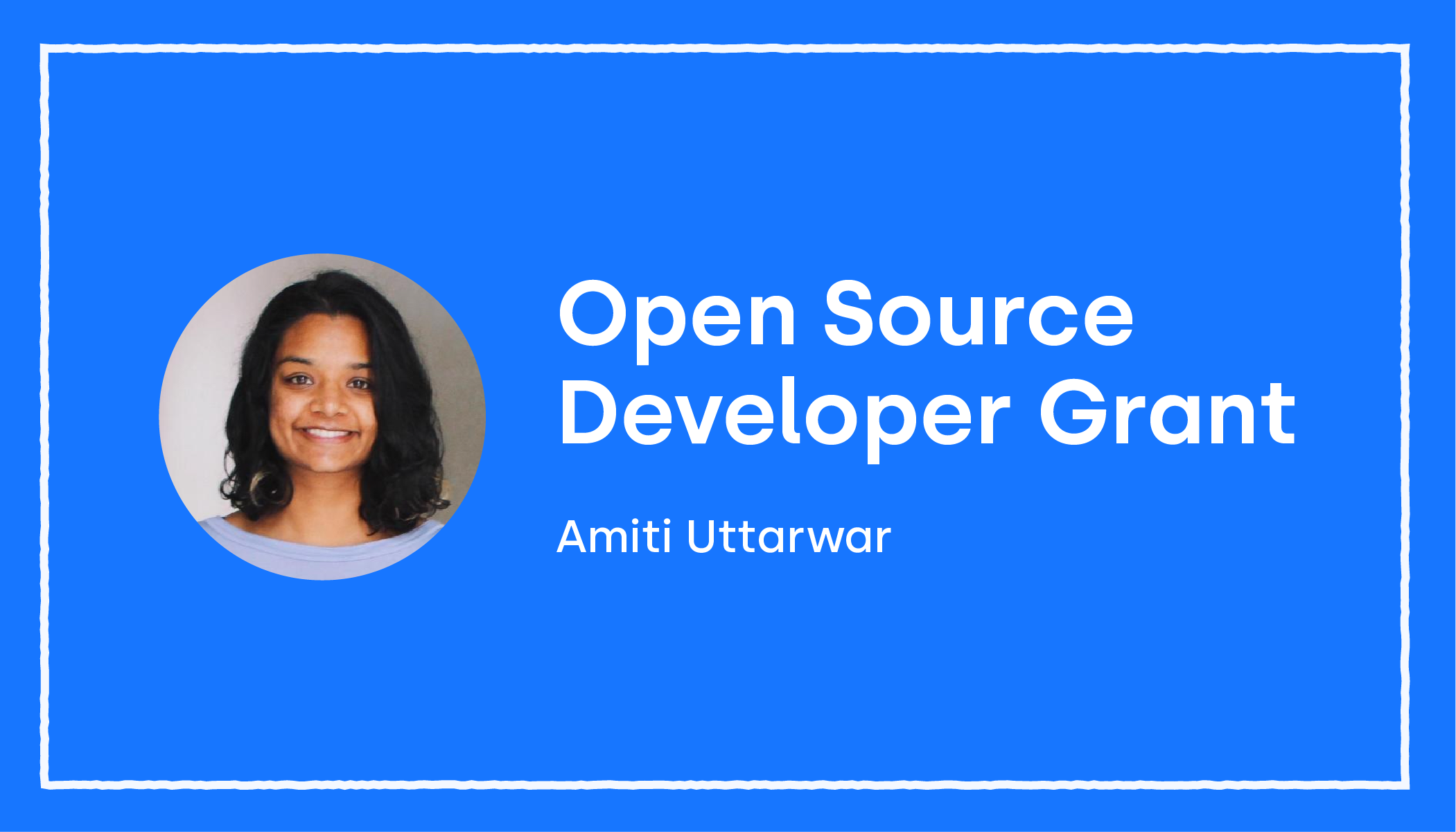 OKCoin open source developer grant announcement Amiti Uttarwar