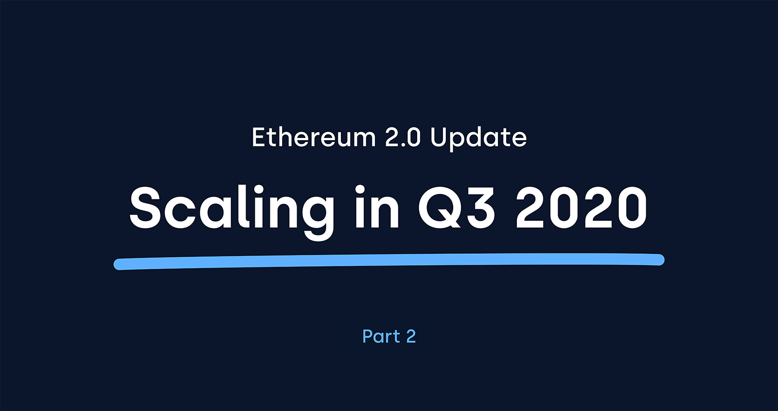 Ethereum 2.0 Serenity upgrade update OKCoin cryptocurrency blog