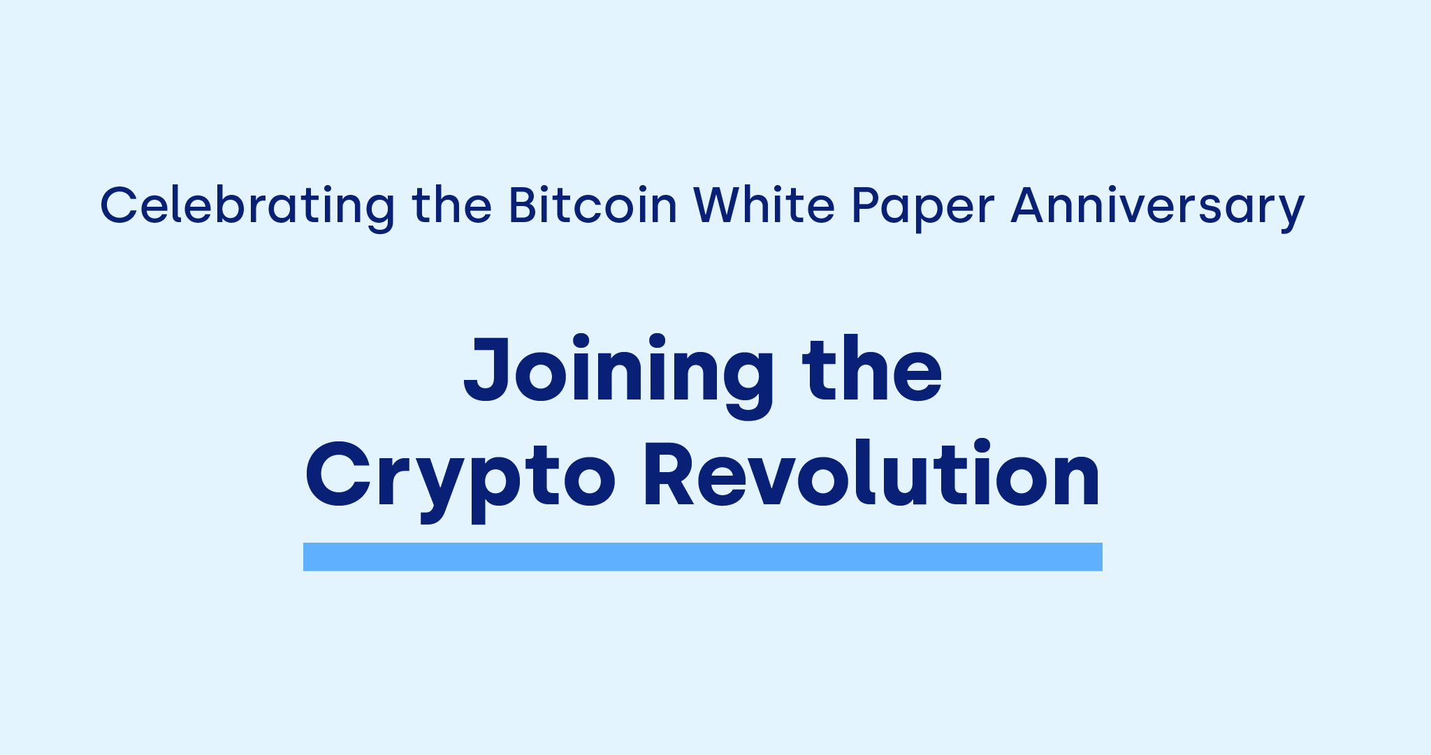 OKCoin celebrates the Bitcoin white paper anniversary