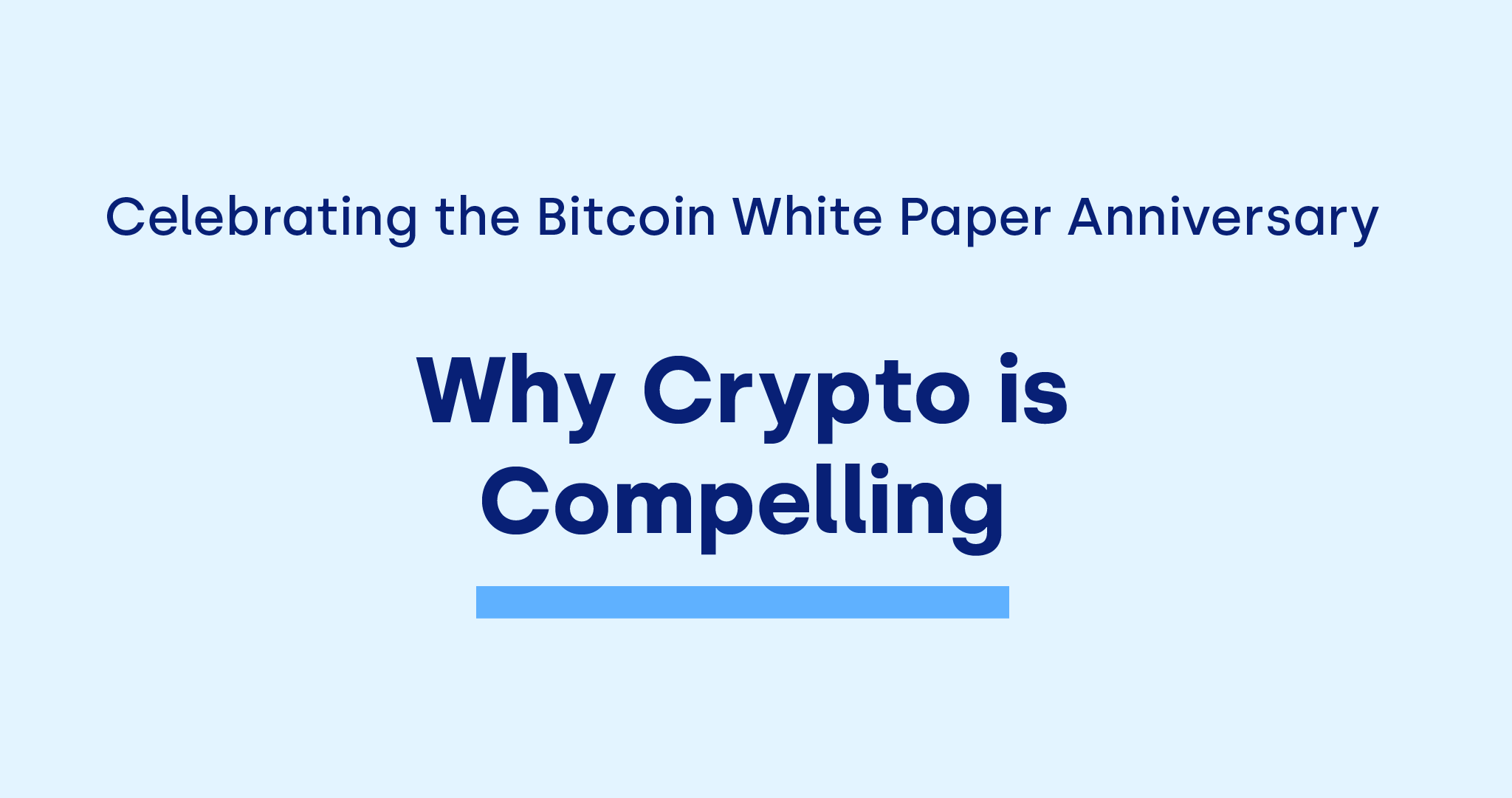 OKCoin celebrates the Bitcoin white paper anniversary