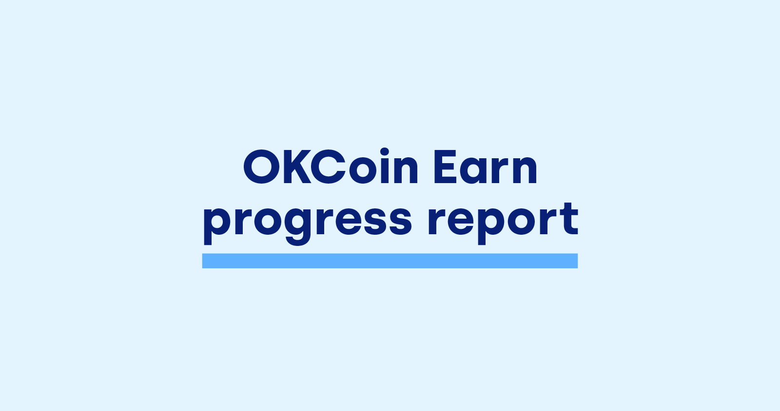Earn progress report image