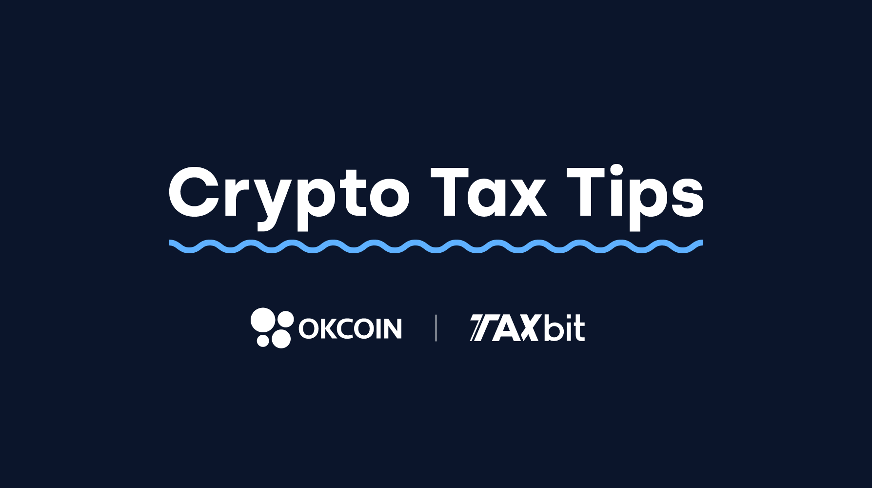 TaxBit and OKCoin image
